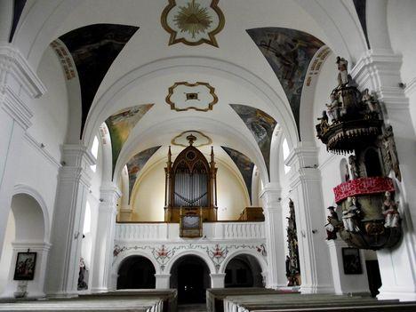 Gyergyószentmiklósi római katolikus templomORGONA