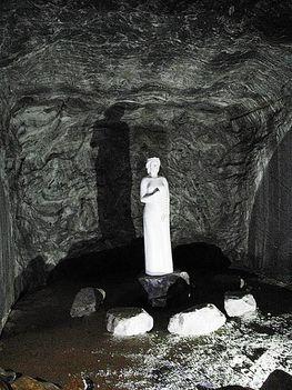 Parajdi sóbánya Szent Borbála