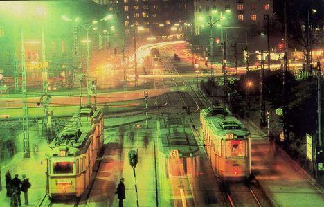 A Moszkva tér éjszaka