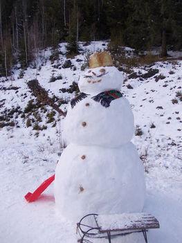 Hóember készitése