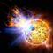 A törpe csillag elengedi a lángoló szörnyeteget