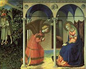 Március 25:Gyümölcsoltó Boldogasszony (Urunk születésének hírüladása)