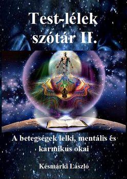 Test-lélek szótár II. borító