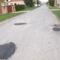 A Maglócai utca kátyúinak javítása 10