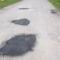 A Maglócai utca kátyúinak javítása 4