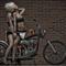 Kiss hot Lesbian chopper rider's-02