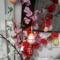 Húsvéti tojások  virágos ágakon
