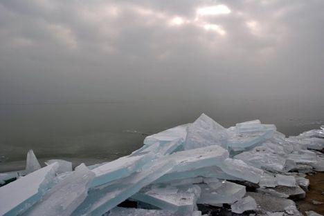 Balatoni jég...képek  10