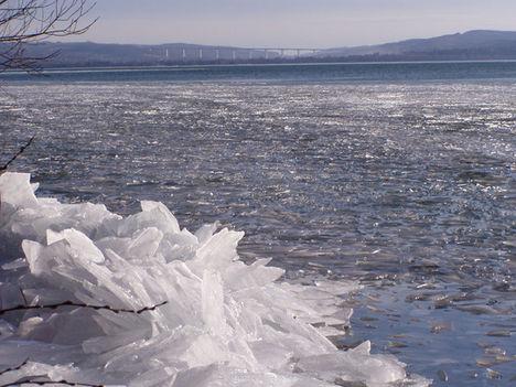 Balatoni jég...képek  2