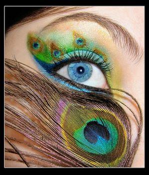 pávás szemek