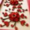 Piros virágos képem