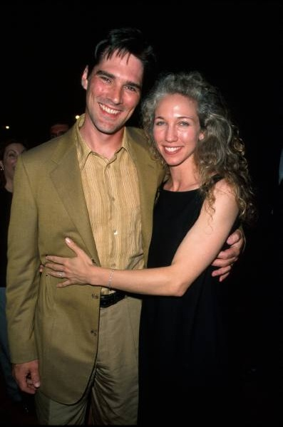 Thomas Gibson with beautiful, Wife Christine Gibson