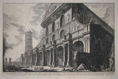 Veduta della Basilica di S_Paolo fuor delle Mura