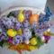 húsvéti asztaldísz orgonával