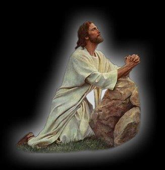 Jézus imádkozik