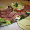 Sonkás tál francia salátával