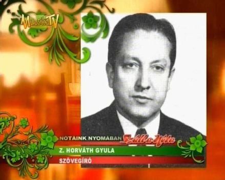 Z. HORVÁTH  GYULA  1927  -  2014 ..