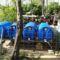 900 liter esővíz tárolása