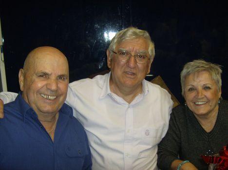 Találkozásom Pomázon a rokonaimmal, Boros Imrével és Boros Katival 2013-ban.