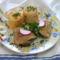 Sült-csirkecomb sárgarépás rizzsel