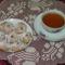 Gesztenyetallér teasütemény