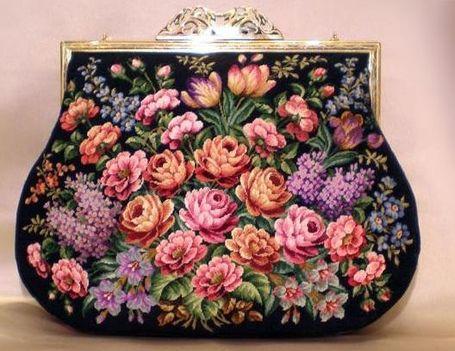 gobelin  szinházi táska