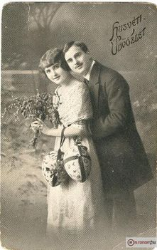 Húsvéti Üdvözlet -  1907