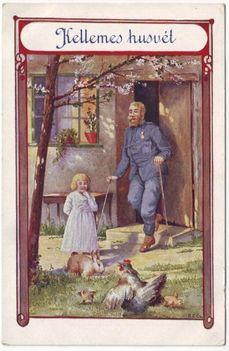 Kellemes Husvét - 1918