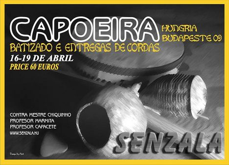 Senzala Batizado 09 flyer