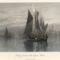 Venice Lagoon, fishing boats, 1872
