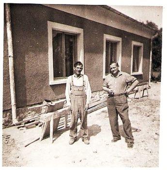 A kúltúrház építésekor kb.1963-64-ben