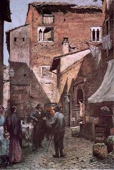 Ettore Roesler Franz_Case dei Pierleoni_1888