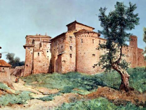 Ettore Roesler Franz_SS Quattro Coronati_1884