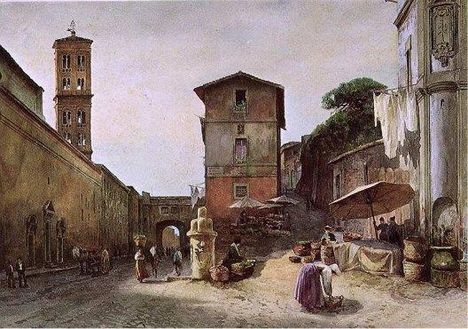 Ettore Roesler Franz_Via dei Penitenzieri_1895
