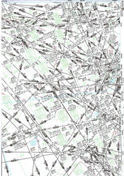 Repülési térkép (részlet)