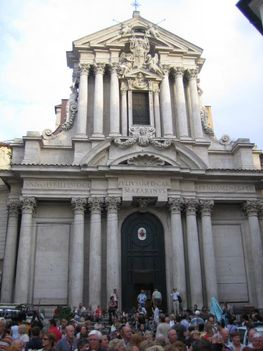 A S.Vincenso ed Anastasio templom