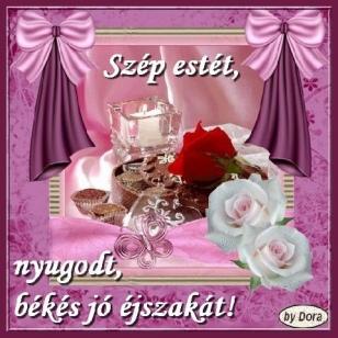 Szép estét, nyugodt, békés jó éjszakát!