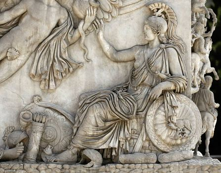 Antoninus Pius Column részlet1b