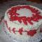 Irásos varrás  torta