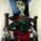 Pablo Picasso – Dora Maar macskával - 111,5 millió dollár