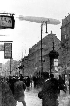 Zeppelin Budapest felett (1931