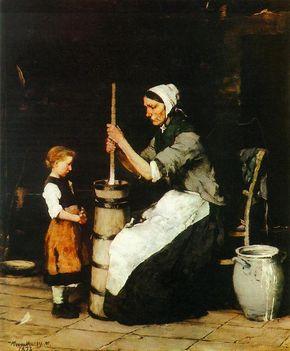 A köpülő asszony (1872-73