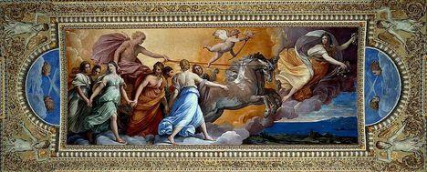 L Aurora by Guido Reni 1613