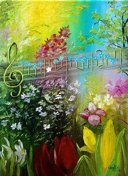 zenél a természet