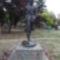 József Attila a Petőfi parkban
