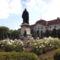 Szent László szobra a múzeumkertben- Nagyvárad