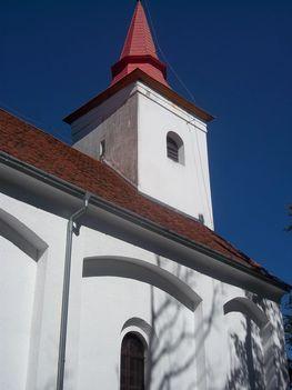 A kápolna nyugati oldala