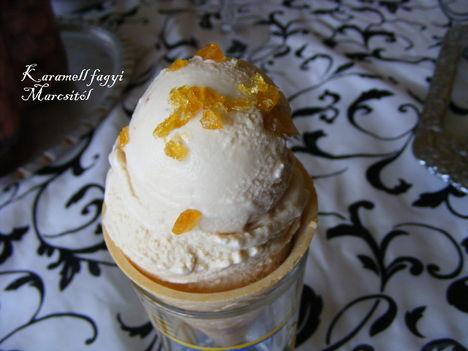 Karamellás fagylalt