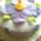 Lila virággal