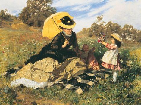 Benczúr Gyula - Nyári piknik